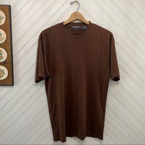 Ribbed Mock Neck Club Shirt